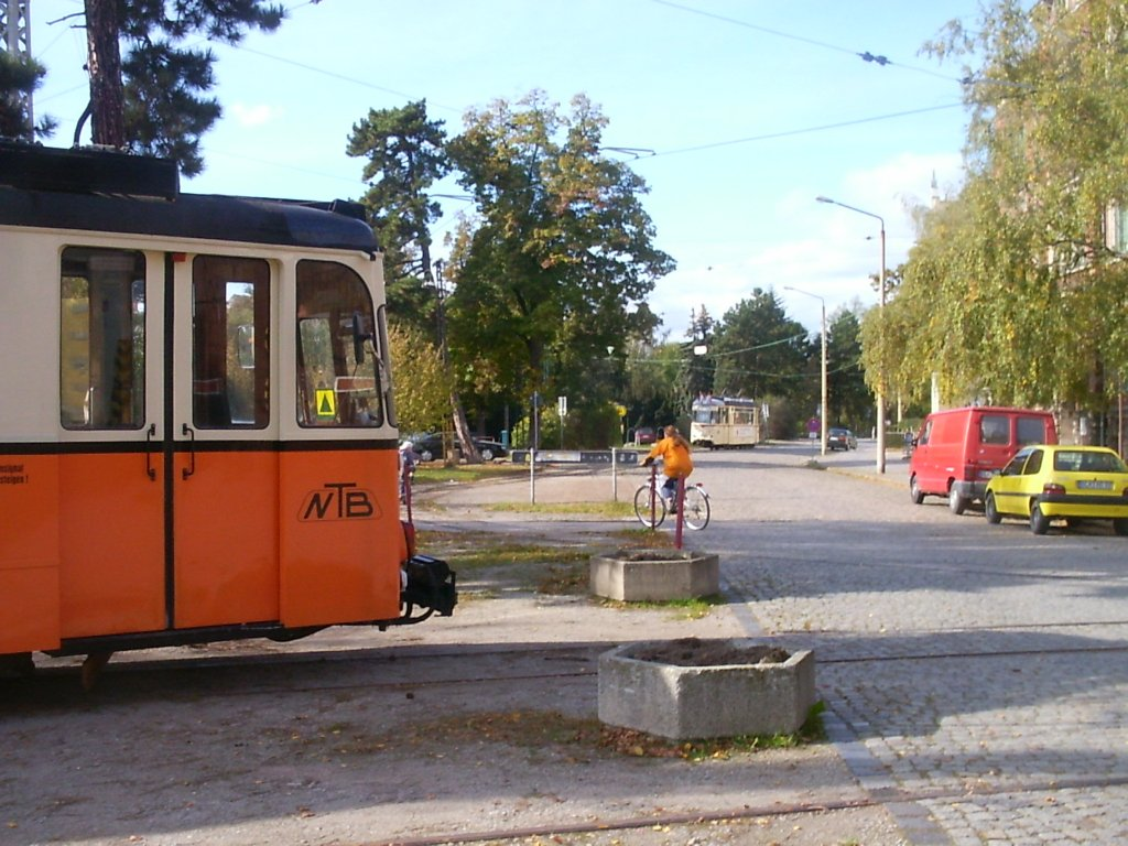 Am Depot in Naumburg, um 2004