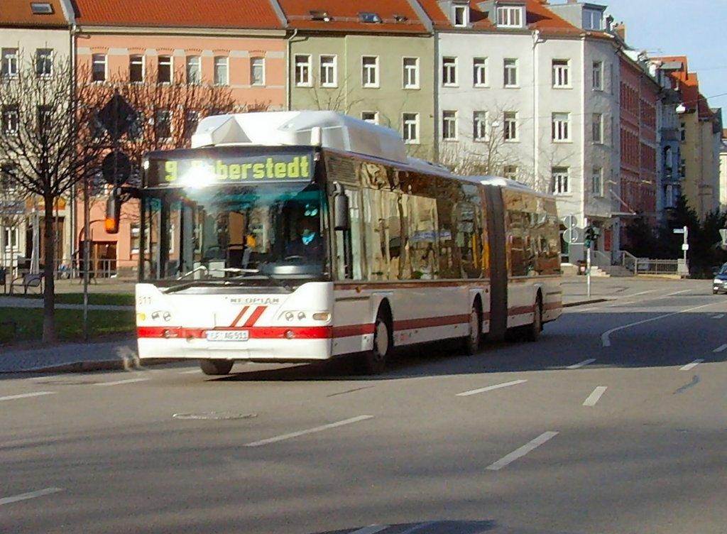 stadtbus am leipziger platz in erfurt november 2009 nahverkehr. Black Bedroom Furniture Sets. Home Design Ideas
