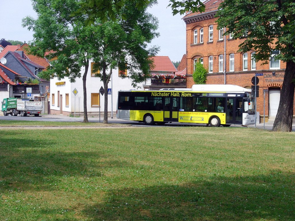 stadtbus der linie 60 in erfurt hochheim juli 2010 nahverkehr. Black Bedroom Furniture Sets. Home Design Ideas