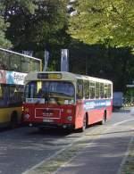 Bus/62329/man-bus-in-berlin-grunewald-roseneck-10102009 MAN-Bus in Berlin-Grunewald, Roseneck, 10.10.2009