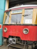 S-Bahn/4661/alter-berliner-s-bahnzug-in-erkner-2007 Alter berliner S-Bahnzug in Erkner 2007 anläßlich Fahrzeugausstellung