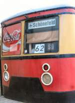 S-Bahn/6765/s-bahnwagen-als-imbis-vor-dem-flughafen S-Bahnwagen als Imbis vor dem Flughafen Schönefeld, 2006