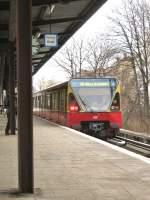 S-Bahn/9603/s-8-im-bhf-greifswalder-strasse S 8 im Bhf Greifswalder Strasse, Februar 2009