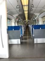 S-Bahn ERSATZVERKEHR/26813/innenansicht-s-bahnzug-aus-muenchen-im-bhf Innenansicht S-Bahnzug aus München im Bhf. Südkreuz, Ersatzverkehr Südkreuz - Gesundbrunnen, Berlin Juli 2009