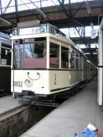 Strasenbahn/11001/tw-3802-iin-niederschoenhausen-2005 Tw 3802 iin Niederschönhausen, 2005