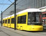 Strasenbahn/14328/flexity-wagen-3001-der-bvg-april-2009 FLEXITY-Wagen 3001 der BVG, April 2009
