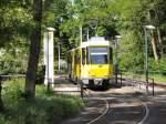 Strasenbahn/16529/kt4d-an-der-endstation-altes-wasserwerk KT4D an der Endstation Altes Wasserwerk, Berlin-Friedrichshagen am 10.5.2009