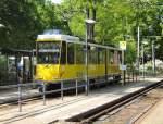 Strasenbahn/17131/kt4d-zum-s-bhf-adlershof-linie-60 KT4D zum S-Bhf Adlershof (Linie 60) an der Endstelle Altes Wasserwerk, 9. 5. 2009