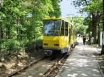Strasenbahn/17322/kt4d-an-der-endstelle-rahnsdorf-waldschenke KT4D an der Endstelle rahnsdorf (Waldschenke), 10.5.2009