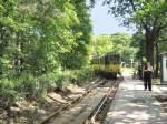Strasenbahn/17323/kt4d-verlaesst-die-endstelle-rahnsdorf-waldschenke KT4D verläßt die Endstelle Rahnsdorf Waldschenke am 10.5.2009