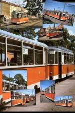 Strasenbahn/57938/bvb-strassenbahnen-in-berlin-ost-berlin-ca BVB-Strassenbahnen in Berlin (Ost), Berlin ca. 1992