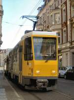 Strasenbahn/57958/t6a-in-berlin-koepenick-2005 T6A in Berlin-Köpenick, 2005