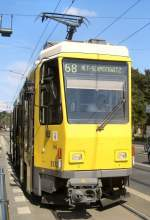 Strasenbahn/6556/tatra-tw-5132-als-linie-68-nach Tatra-Tw 5132 als Linie 68 nach Alt-Schmöckwitz, 2006