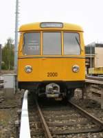U-Bahn/10572/u-bahnwagen-2000-werkst-seestrasse-2008 U-bahnwagen 2000, Werkst. Seestrasse 2008