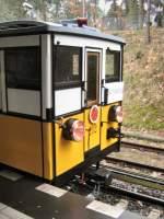 U-Bahn/12915/wagen-212-a1-in-krumme-lanke Wagen 212 (A1) in Krumme Lanke, März 2009