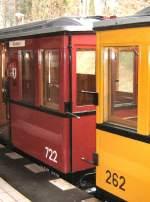 U-Bahn/13112/wagen-262-und-722-krumme-lanke Wagen 262 und 722, Krumme Lanke 15.3.2009