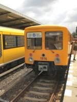 U-Bahn/23582/eiii-zug-in-hoenow-572009 EIII-Zug in Hönow, 5.7.2009