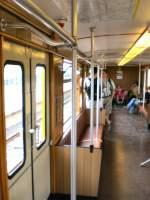 U-Bahn/23611/innenansicht-eiii-zug-572009 Innenansicht EIII-Zug, 5.7.2009