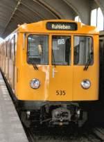 U-Bahn/6866/wagen-535-unterwegs-nach-ruhleben-2006 Wagen 535 unterwegs nach Ruhleben, 2006