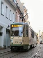 strassenbahn/28753/tatra-tw-178-unterwegs-zum-hauptbahnhof-brandenburg Tatra-Tw 178 unterwegs zum hauptbahnhof, Brandenburg 2006