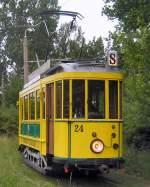 Strasenbahn/66600/hist-tw-24-der-strassenbahn-cottbus Hist. Tw 24 der Strassenbahn Cottbus, 2009