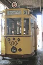 Strassenbahn/17127/hist-tw-60-im-alten-depot Hist. Tw 60 im alten Depot Bachgasse am 9.5.2009
