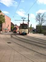 Strassenbahn/9342/an-der-europa-universitaet-frankfurt-oder-2006 An der Europa-Universität, Frankfurt Oder 2006