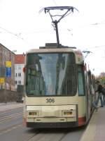 Strassenbahn/9512/niederflurwagen-306-2006 Niederflurwagen 306, 2006