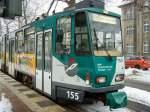 Strassenbahn/52750/tw-155-der-vip-potsdam-222010 Tw 155 der VIP, Potsdam 2.2.2010