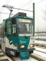 Strassenbahn/52870/kt4d-tw-52-der-vip-potsdam KT4D Tw 52 der ViP, Potsdam 4. 2. 2010