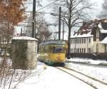 strassenbahn-srs/52146/tw-47-der-srs-hat-seine Tw 47 der SRS hat seine fahrt nach Alt-Rüdersdorf begonnen, 29. 1. 2010