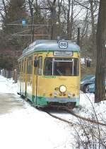 strassenbahn-srs/52148/tw-47-in-friedrichshagen-29-1 Tw 47 in Friedrichshagen, 29. 1. 2010