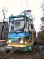 strassenbahn-srs/7166/tatra-wagen-unterwegs-nach-friedrichshagen-2006 Tatra-Wagen unterwegs nach Friedrichshagen, 2006