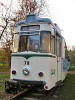 strassenbahn-srs/7184/tw-78-in-schoeneiche-2006 Tw 78 in Schöneiche, 2006