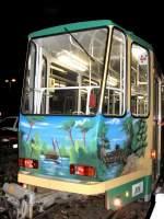 strassenbahn-srs/7187/srs-tatrawagen-am-abend-2006 SRS Tatrawagen am Abend, 2006