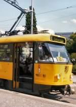 Strassenbahn/11102/tatra-in-dresden-2004 TATRA in Dresden. 2004
