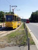 strassenbahn/82787/an-der-endstelle-plamag-in-plauen An der Endstelle PLAMAG in Plauen, Juli 2010