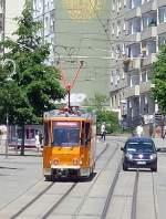 strassenbahn/83509/bergab-zur-stadtmitte-arbeitstriebwagen-plauen-vogtland Bergab zur Stadtmitte, Arbeitstriebwagen Plauen Vogtland Juli 2010