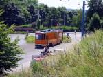 strassenbahn/83614/arbeitswagen-am-oberen-bahnhof-juli-2010 Arbeitswagen am oberen Bahnhof, Juli 2010