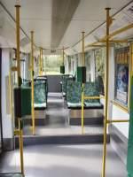 Strassenbahn/31832/tw-307---blick-zum-heck Tw 307 - Blick zum Heck, Dessau 12. 9. 2009