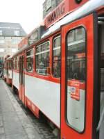 Strassenbahn/47099/seitenansicht-tatra-t4-in-der-innenstadt Seitenansicht Tatra T4 in der Innenstadt, Halle/Saale 28.12.2009