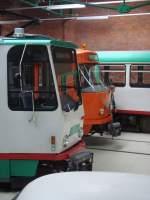 Strasenbahn/31354/t4d-und-t6a2-nebeneinander- T4D und T6A2 nebeneinander .