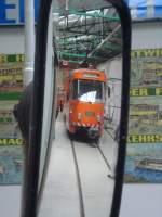 Strasenbahn/31364/rechter-seitenspiegel-des-tw-1284- Rechter Seitenspiegel des Tw 1284 .