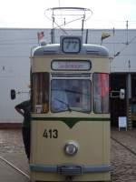 Strasenbahn/31492/front-des-tw-413- Front des Tw 413 .