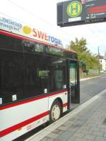bus/34484/erdgasbus-auf-der-linie-9-in Erdgasbus auf der Linie 9 in der Hst. Salinenstrasse, Erfurt Oktober 2009