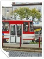 strassenbahn/34589/tatra-kt4d-tw-522-der-evag Tatra KT4D Tw 522 der EVAG an der Haltestelle Wendenstrasse, Erfurt Oktober 2009