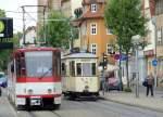 strassenbahn/67617/fast-schon-geschichte-und-geschichte-kt4d Fast schon Geschichte und Geschichte, KT4D und Tw 92, Erfurt 2010