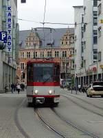 strassenbahn/89006/kt4d-unterwegs-zum-ringelberg-1842010 KT4D unterwegs zum Ringelberg, 18.4.2010