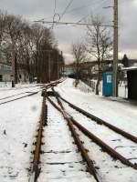 thuringerwaldbahn/87485/gleisanlagen-gleisdreieck-2006-vor-der-erneuerung Gleisanlagen Gleisdreieck 2006 vor der Erneuerung