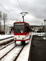 thuringerwaldbahn/87496/tw-312-nach-gotha-2006 Tw 312 nach Gotha  2006